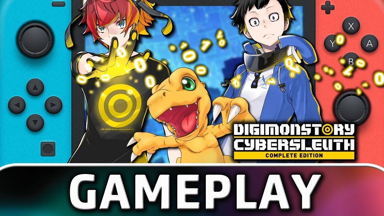 Digimon Story Cyber Sleuth: Complete Edition | 10 Minutes of Gameplay on Nintendo Switch