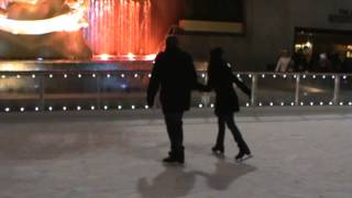 Rockefeller Ice Rink Marriage Proposal Bryan Karla New Years day Surprise New York