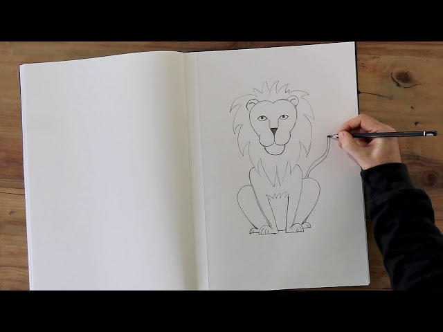 How to draw a lion Promo.