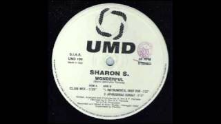 SHARON S - Wonderful (Instrumental Deep Dub) 1993
