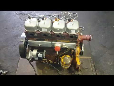 УН 053 дизельный мотор Zetor 7201.