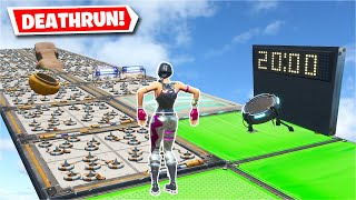 Can i beat this Deathrun map before time runs out? (Fortnite Creative Challenge)