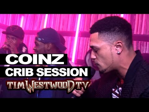 Coinz, Dave, Trilla, V.I., Reload & Big Watch freestyle - Westwood Crib Session