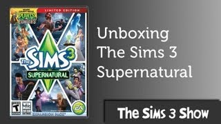 The Sims 3 Supernatural Unboxing and Install