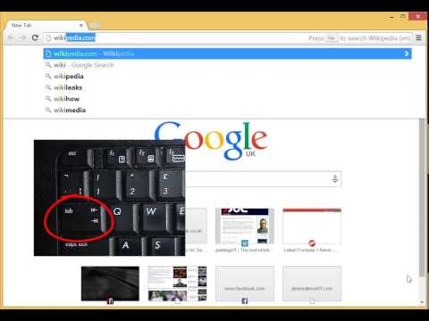 Search Wikipedia from Chrome