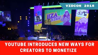 VidCon 2018 | YouTube Introduces New Ways For Creators To Monetize And Build A Strong Community