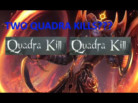 TWO QUADRA KILLS IN A SINGLE GAME!!! Vainglory 5v5