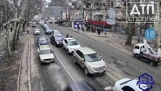 Запись ДТП с видеорегистраторов за 30.01.2019