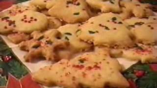 Lady Kook's Festive Shortbread Cookies