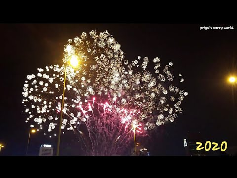 Happy  new year 2020|Dubai creek new Year fireworks | Al seef fireworks |