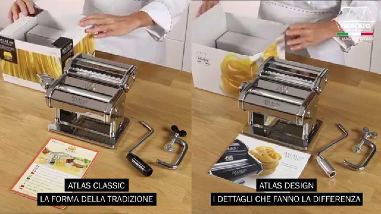 Le macchine per pasta fresca marcato youtube - Macchine per la pasta casalinga ...