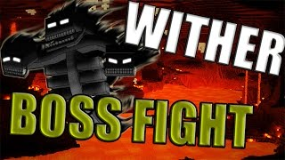 WITHER BOSS FIGHT | Minecraft Realms | #StickProGames