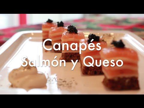 canaps fros de salmn y queso fciles y rpidos aperitivos para fiestas youtube