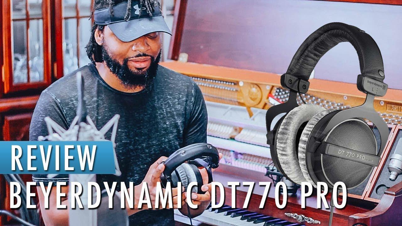 e42f25d2cf8 Best Studio Headphones 2018 | Beyerdynamic DT770 PRO 250 OHM REVIEW ...