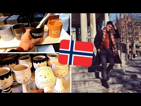 OSLO NORWAY HOMEWARE & THRIFT SHOPPING