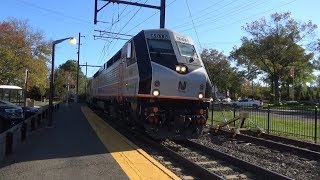 Far Hills Steeplechase Trains on the Gladstone Branch 10/21/17