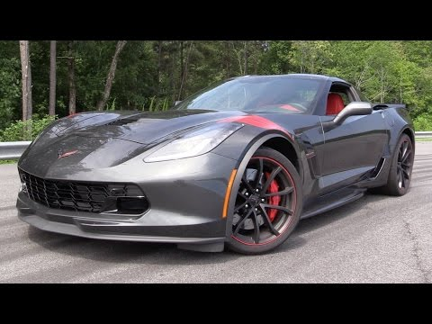 2017 Chevrolet Corvette Grand Sport – Start Up, Track Test & In Depth Review
