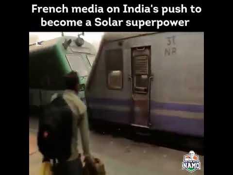 Solar trains