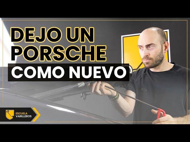 Antes Y Después De Un Porsche 🔝🚗