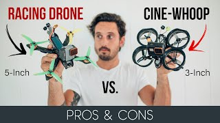 Which DJI FPV DRONE should you BUILD? | 3Inch vs 5Inch Pros & Cons