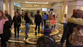 The Venetian hotel lobby review at the strip in Las Vegas