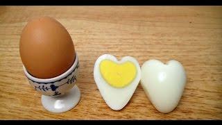 [Handmade] - Hướng dẫn làm trứng gà luộc hình trái tim - MinHouseSystem.com