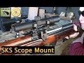 SKS Scout Scope Mount by Brass Stacker