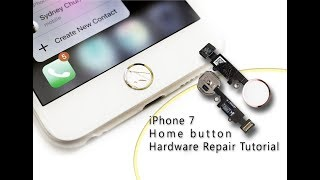 DIY iPhone 7 Home Button Touch ID Hardware Repair / Home- und Touch-ID-Reparatur