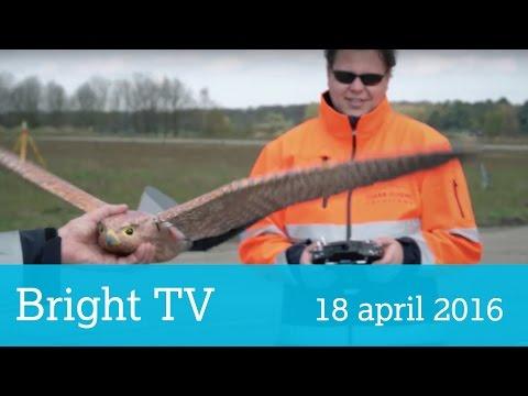Bright TV 18 april 2016: Robird, Oculus Rift en GirlsDay