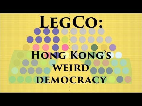 Legco - Hong Kong's weird democracy