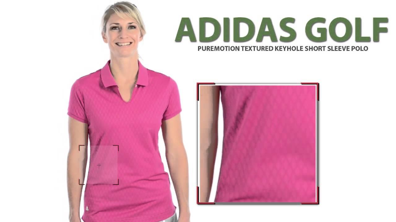 Adidas Golf Puremotion Polo Shirt - CoolMax® abf97ff8e