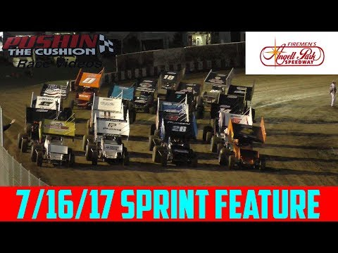 Angell Park Speedway - 7/16/17 - IRA Sprints - Feature