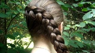 Katniss Braid Tutorial | Catching Fire Hairstyles | Hunger Games Hairstyles