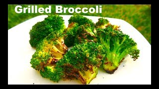 Grilled Broccoli Easy Recipe