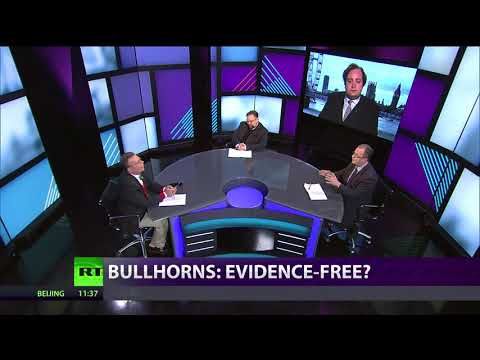 CrossTalk Bullhorns: Evidence-free?
