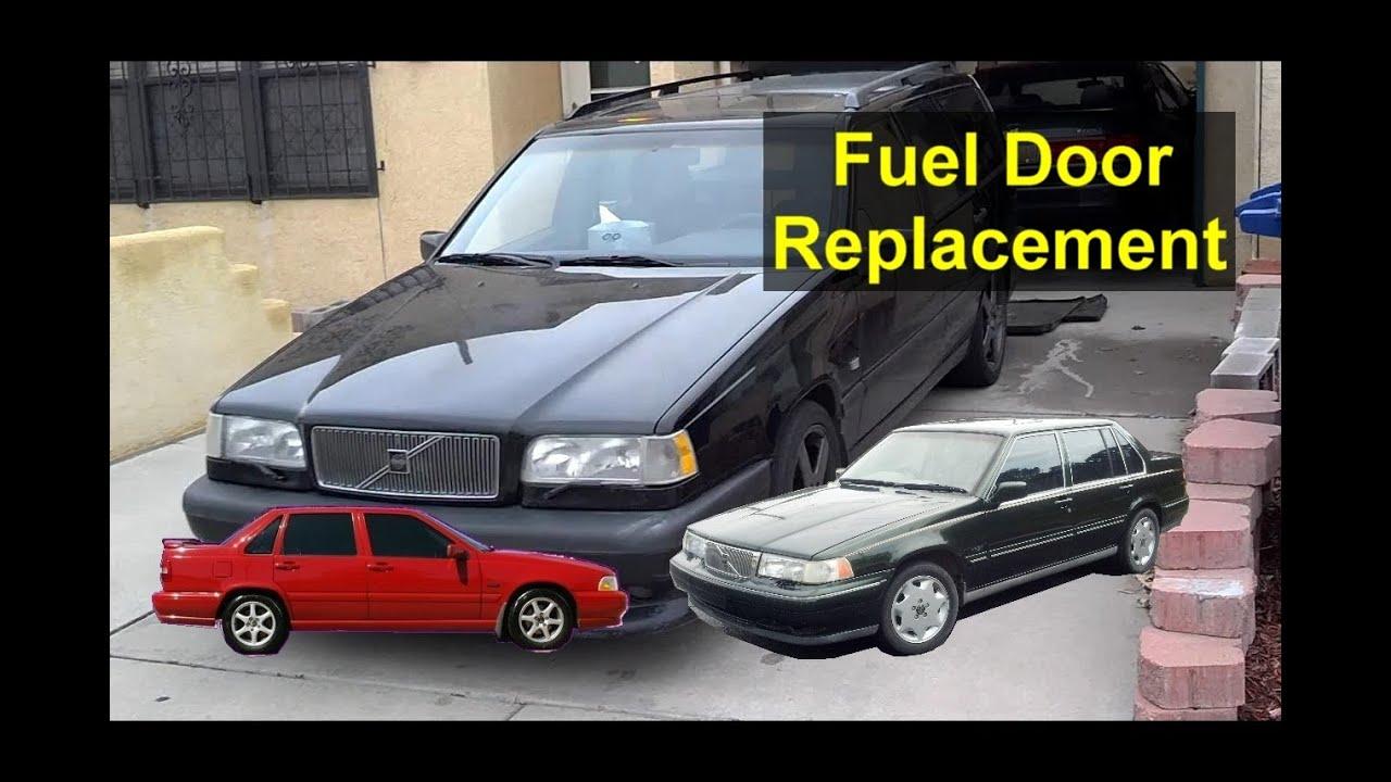 Volvo Fuel Door Hing Replacement Installation 850 S70