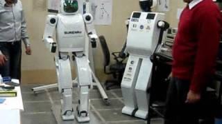 Iran's Humanoid Robot Surena 2 Walking