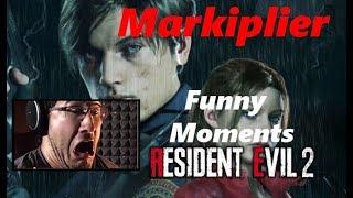 Markiplier Resident Evil 2 Remake Best Reactions