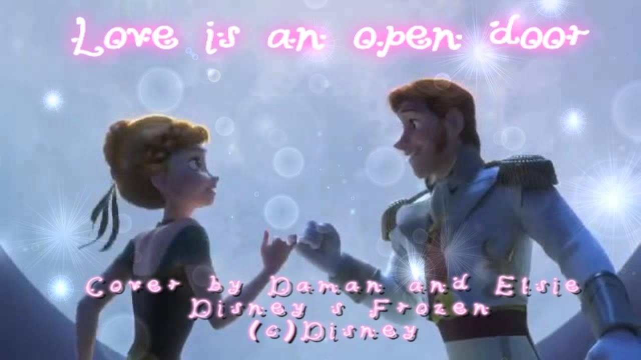 Love Is An Open Door Frozen Cover By Daman Mills And Elsie Lovelock