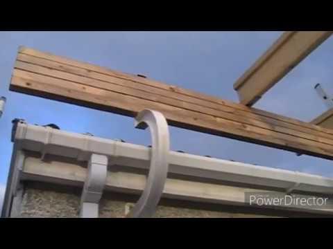 Прозрачная крыша 2. Поликарбонат.