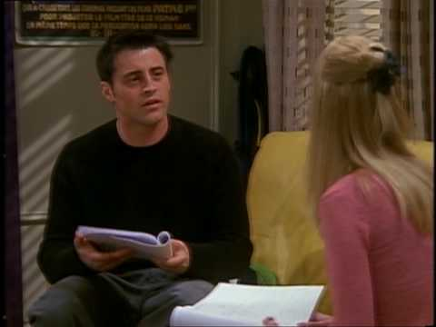 """Joey/Phoebe""""I was really acting my ass off...."""""""