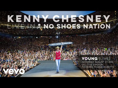 Kenny Chesney - Young (Live) (Audio)