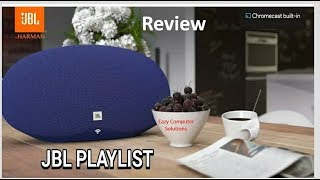 JBL Playlist Wireless Bluetooth Speaker With ChromeCast | Complete Setup & Detailed Review