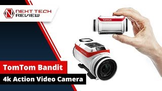 TomTom Bandit 4k Action Video Camera  - NTR
