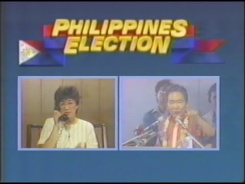 ABC News Nightline: Marcos & Aquino - 02/05/1986
