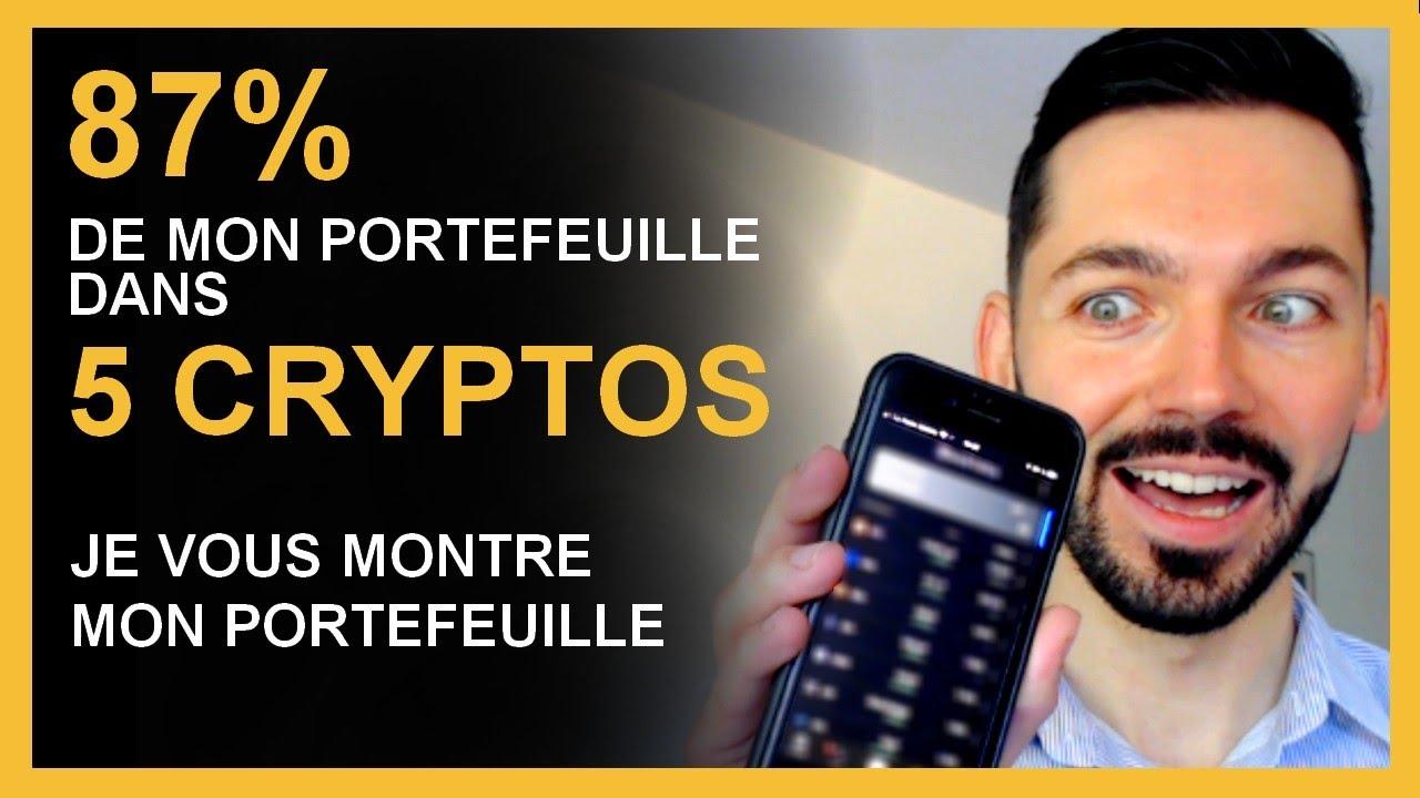 Crypto monnaie 2021 : Investir 87% dans 5 cryptos INDISPENSABLES pour 2021