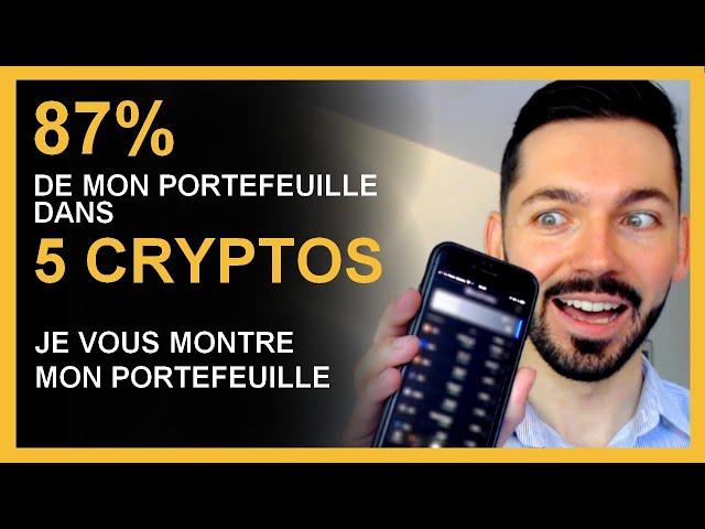 Crypto monnaie 2021 \: Investir 87% dans 5 cryptos INDISPENSABLES pour 2021