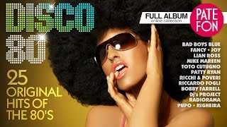 Download DISCO-80 /Various artists/ 25 ORIGINAL HITS OF THE 80'S Mp3 and Videos