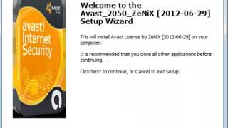 como tener licencia 2050 avast 7.0.1474 (zenix)