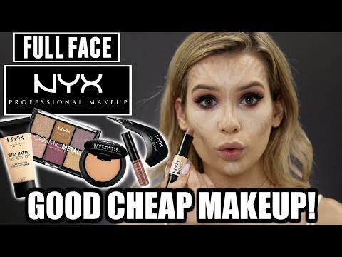 FULL FACE Using Only NYX Makeup! *CHEAP AF* | Hit or Miss?!